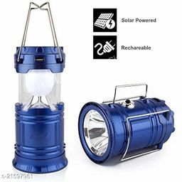 FREE GIFT Techfire Solar Emergency LED Rechargeable Light Lantern with USB Mobile Charging Torch Point and 2 Power Source Solar HOT DEAL