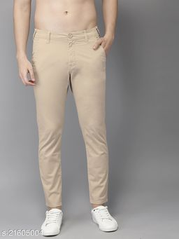 Stylish Men Cotton Trousers