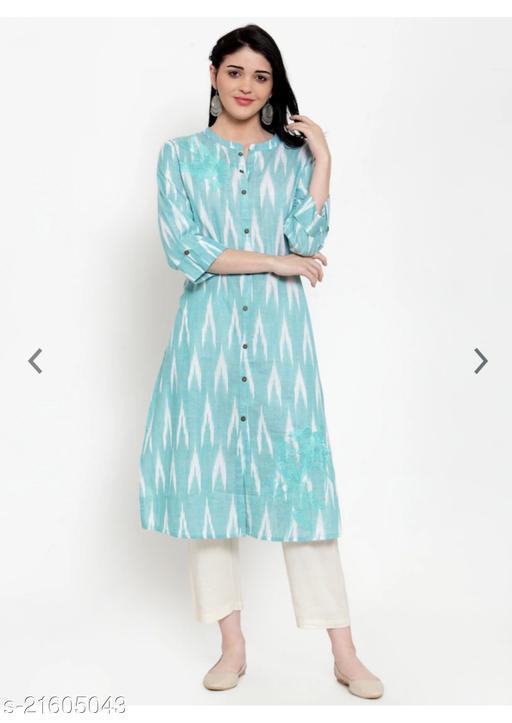 Trendy Cotton Attractive Kurtis