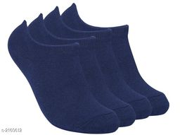 Unisex Cotton Lycra Unisex Socks (Pack Of 4)