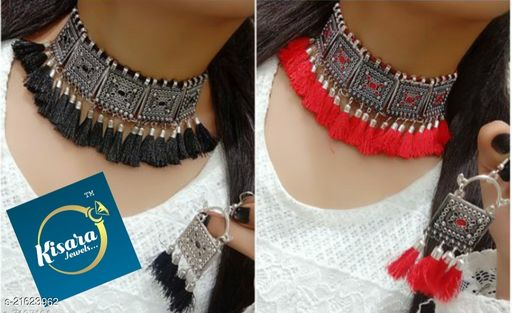 KISARA JEWELS OXIDISED PARTY WEAR COMBO PACK.