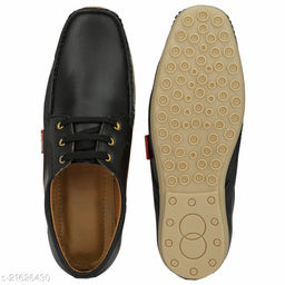 Men's Synthetic Stylish Lace up Loafers