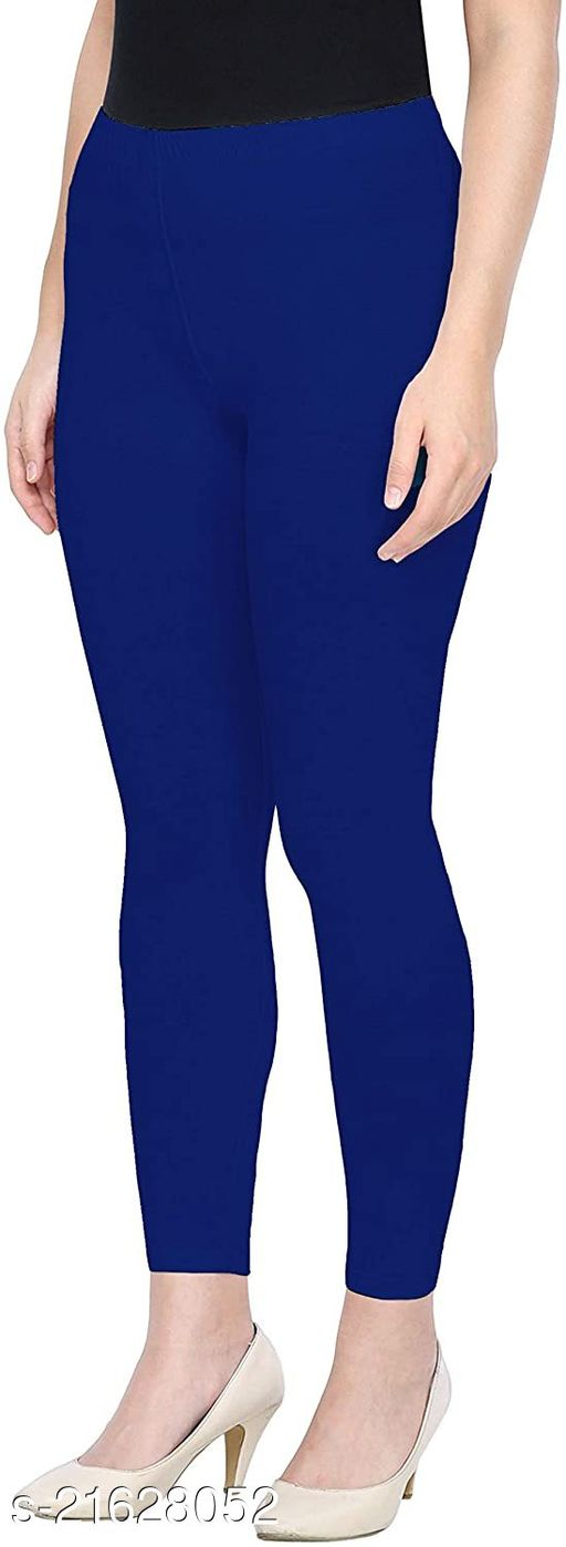 ROYAL BLUE ANKLE LENGTH ROZY COMFORT LEGGINGS