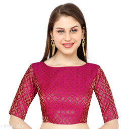 Heavy Blouse For Women Pink (Free Size)