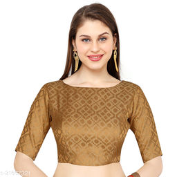 Heavy Blouse For Women Gold (Free Size)