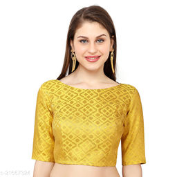 Heavy Blouse For Women Yellow (Free Size)