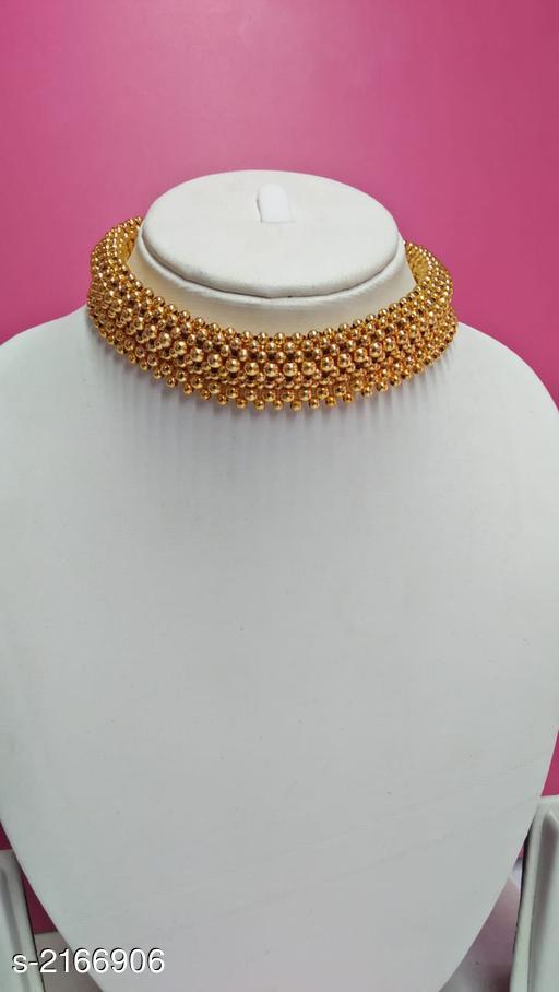 Beautiful Gold Plated Women's Jewellery Set