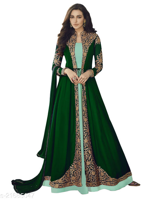 Aagyeyi Graceful Semi-Stitched Suits