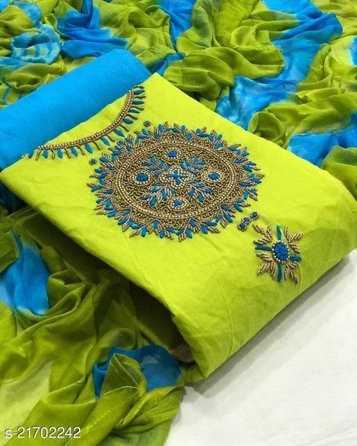 Adrika Refined Semi-Stitched Suits