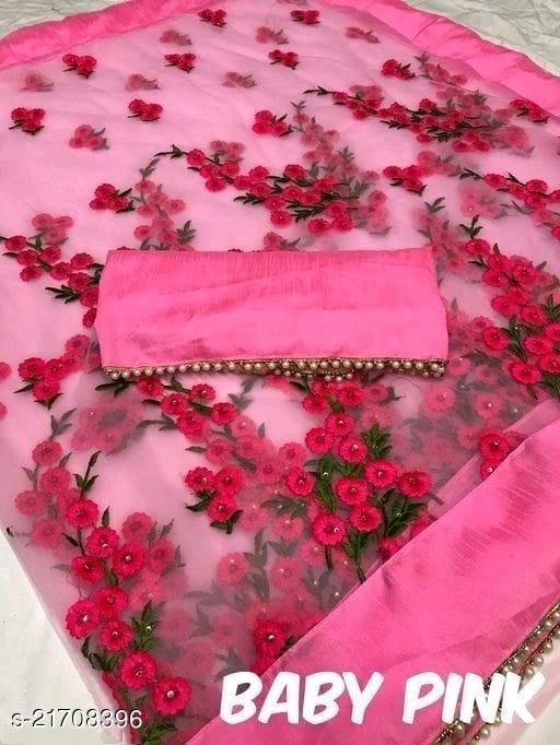 Stylish Bollywood Net Saree