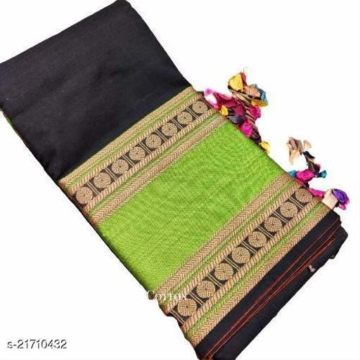 Pure Handloomed Narayanpet Mercerized Design Printed Cotton Sarees