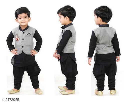 Elegant Kid's Boy's Kurta Set