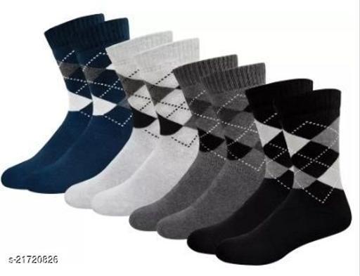 Trendy Men's Multipack Multicolor Socks