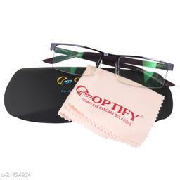 Optify® Half Rim Unisex Spectacle Frame