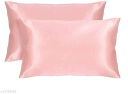 """Satin 300 TC Pillow Cover/ Pillow Cases/ Pillow Protectors