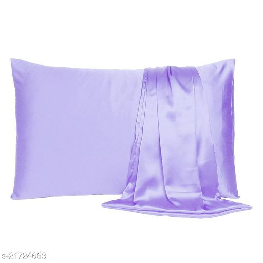 """Satin 600 TC Pillow Cover/ Pillow Cases/ Pillow Protectors