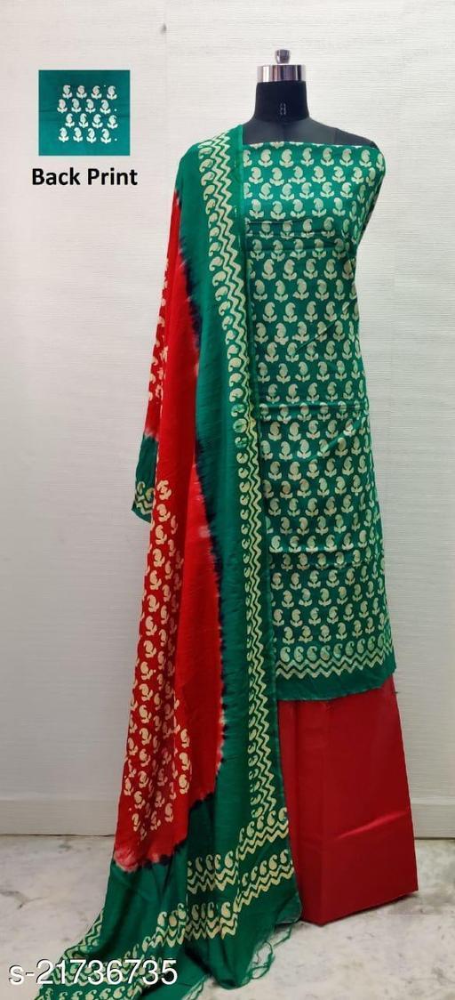 Cambric Cotton Wax Batik Print Dress Material