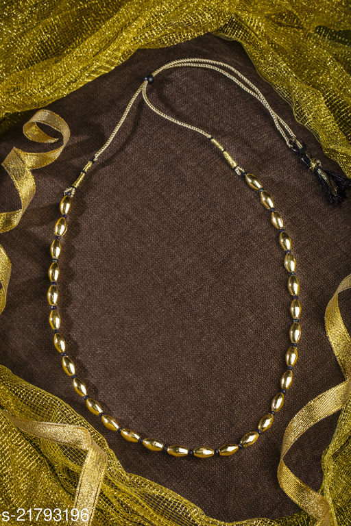 Trendy Gold Plated Fancy Necklace(Adjustable)