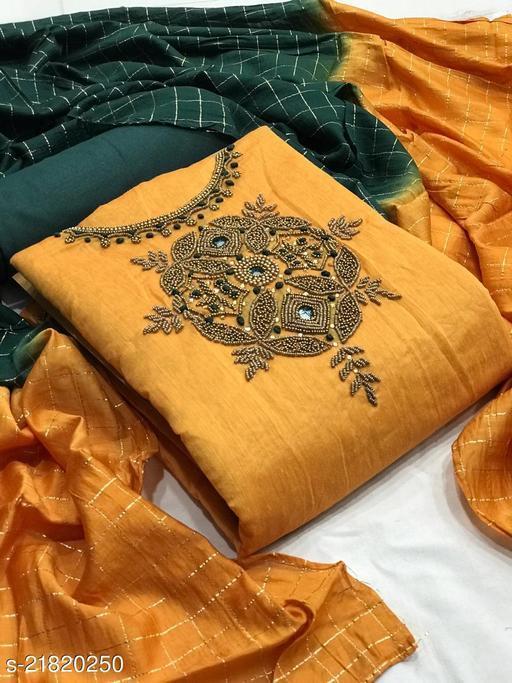 Kashvi Petite Semi-Stitched Suits