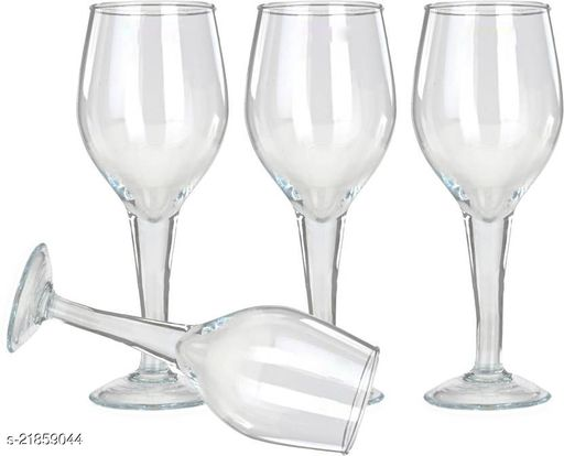 Somil Royal New Style Red Wine Glass Set Of Four-AA7
