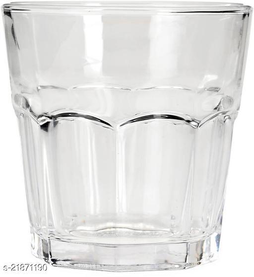 Somil Multi-Purpose Beaver Tumbler Drinking Glass ( Set Of 6)-Rw51