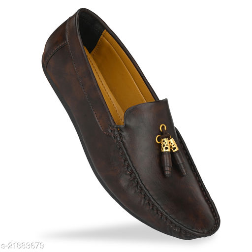 brown Casual Shoes Men Loafers