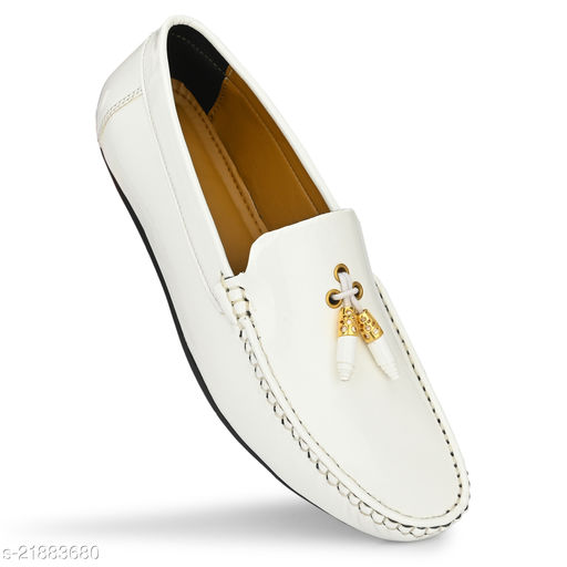 white loafers Casual Shoes Men Loafers