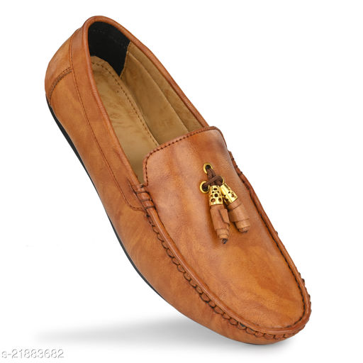 beige casual shoes Stylish Men Loafers