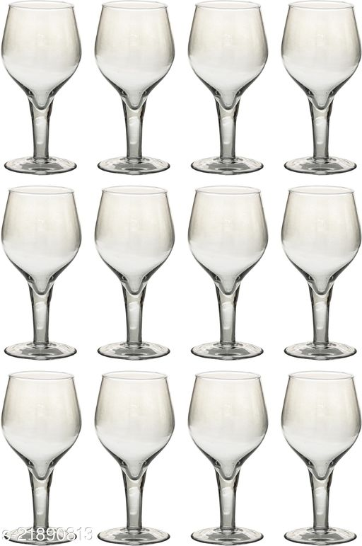 Somil Rich Look Royal Transparent Glass Set Of 12