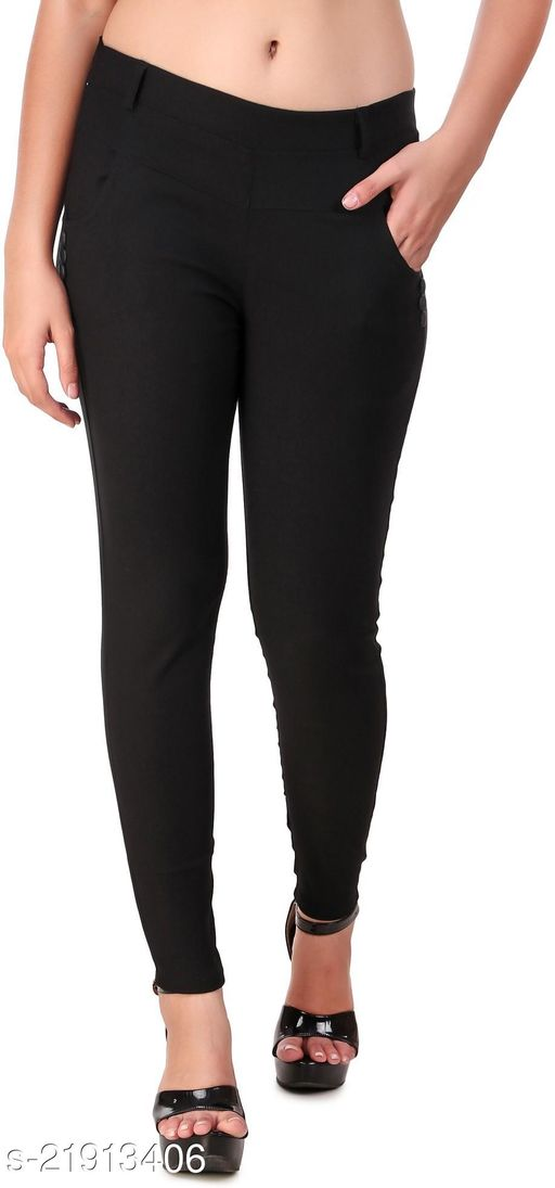jegging pants solid women and girl