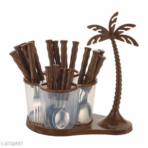 Deluxe Cutlery Set with Coconut Tree