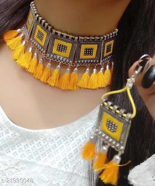 Twinkling Chunky Women jewellery set