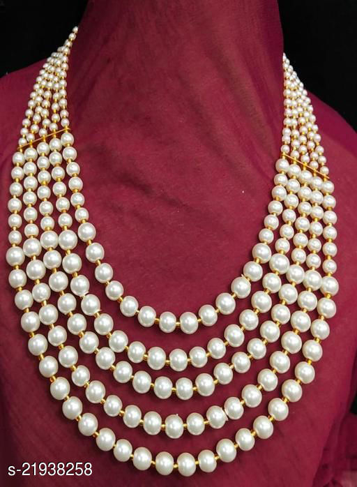 Stylish Pearl Moti Necklace for Women and Girls
