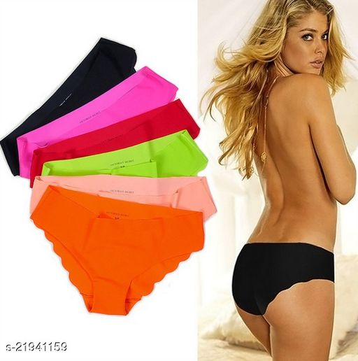 Women Pack of 6 Seamless Panties