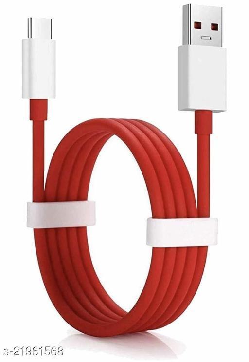 Kazy Compatible Dash Cable/Warp Type C Charging Charger Cable Data Sync Fast Charging Cable Compatible for OnePlus 8,8 PRO,7,7T,6T,6,5,5T, 3T, 3