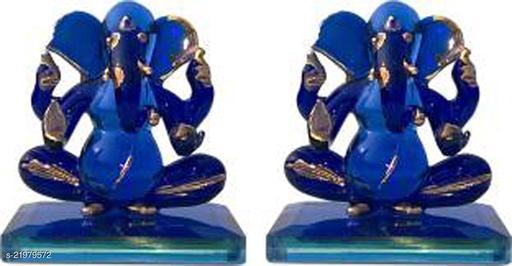 Afast Blessing Dual Ganesha Crystal