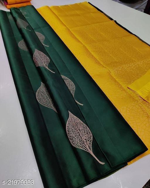 latest design silk saree for women