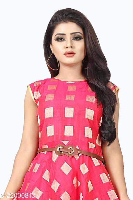 Aavisaqueency Women Stylish Fancy Western Dress one