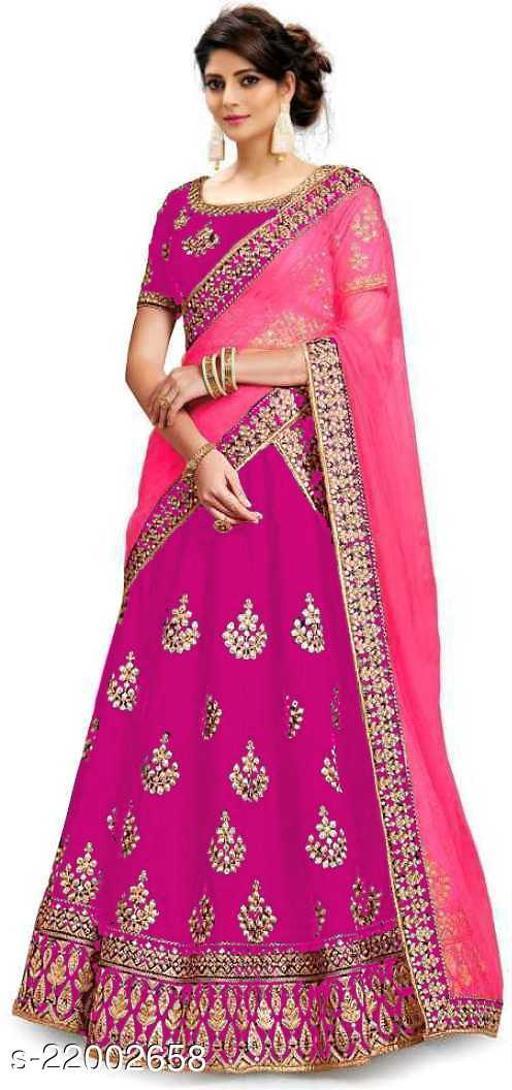 Pink Deepmala Lehenga SN