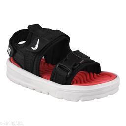 Stylish Boy's Mesh Black Sandals