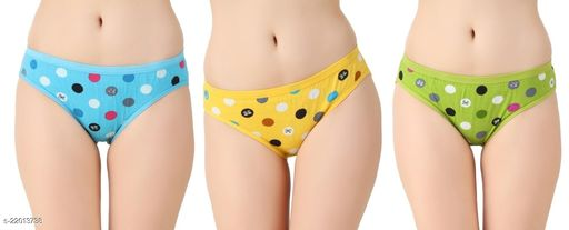 Women Hipster Yellow Hosiery Panty (Pack of 3)