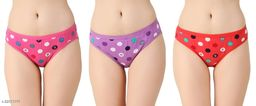 Women Hipster Pink Hosiery Panty (Pack of 3)