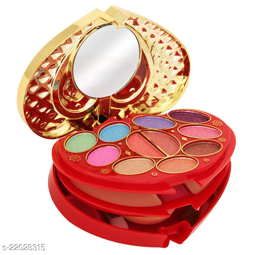 T.Y.A Good Choice India Makeup Kit, 11 Eyeshadow, 2 Blusher, 2 Compact, 4 Lip Color, (6143-2), 21g With Lilium Hand Cleanser