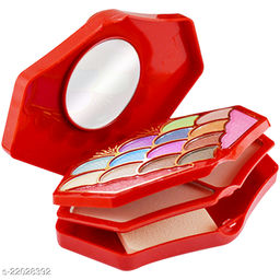 T.Y.A Good Choice India Makeup Kit, 13 Eyeshadow, 2 Blusher, 2 Compact, 4 Lip Color, (5017-1), 39g With Lilium Hand Cleanser