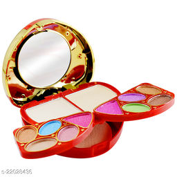 T.Y.A Good Choice India Makeup Kit, 8 Eyeshadow, 2 Blusher, 2 Compact, 4 Lip Color, (6158-2), 15g With Lilium Hand Cleanser