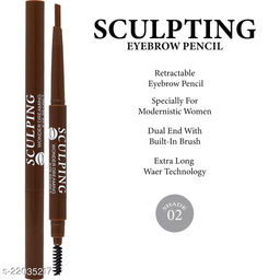 Kiss Beauty Sculpting Wonder Dreaming Eye Pencil, (57127-02), 4g With Lilium Hand Cleanser