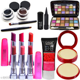 Adbeni Combo - The Top Selling Makeup Article Along With Soft Puff, Pack of 11, (GC1451)