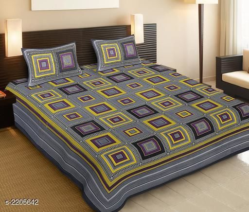 Royal 100% Cotton Printed Double Bedsheet