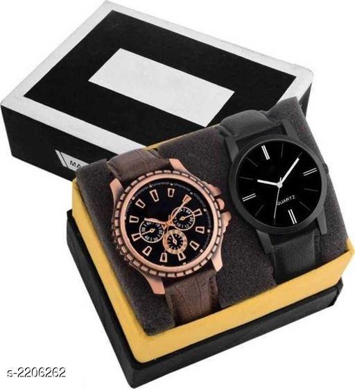 Trendy Analog Watches Combo