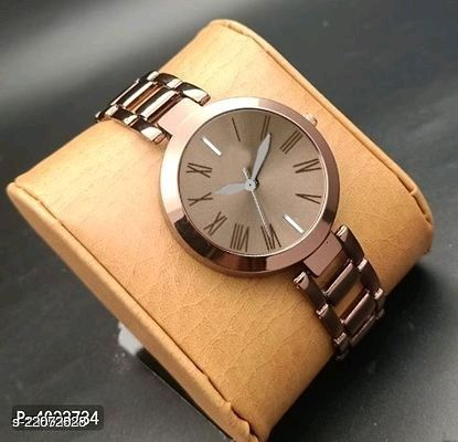 MMD Perfect collegeion look Rouden Dial  Chain watch for Women Analog Watch - For Women